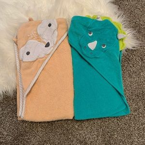 4 for $15 / Baby Hooded Towels
